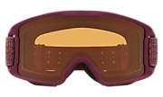 Line Miner™ (Youth Fit) Snow Goggles - Heathered Grenache