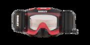 Front Line™ MX Goggles - Tuff Blocks Red Grey