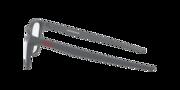 Centerboard - Satin Light Steel