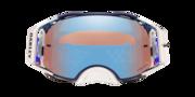 Airbrake® MX Goggles - Troy Lee Designs Pre-Mix Navy Orange