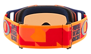 Front Line™ MX Goggles - Troy Lee Designs Confetti Orange Red