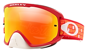 O-Frame® 2.0 PRO MX Goggles - Troy Lee Designs Monogram Orange Red