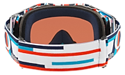 Airbrake® MX Goggles - Troy Lee Designs Quattro Rwb