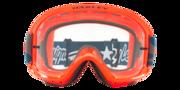 O-Frame® 2.0 PRO MTB Goggles - Troy Lee Designs Star Dazzle Orange Grey