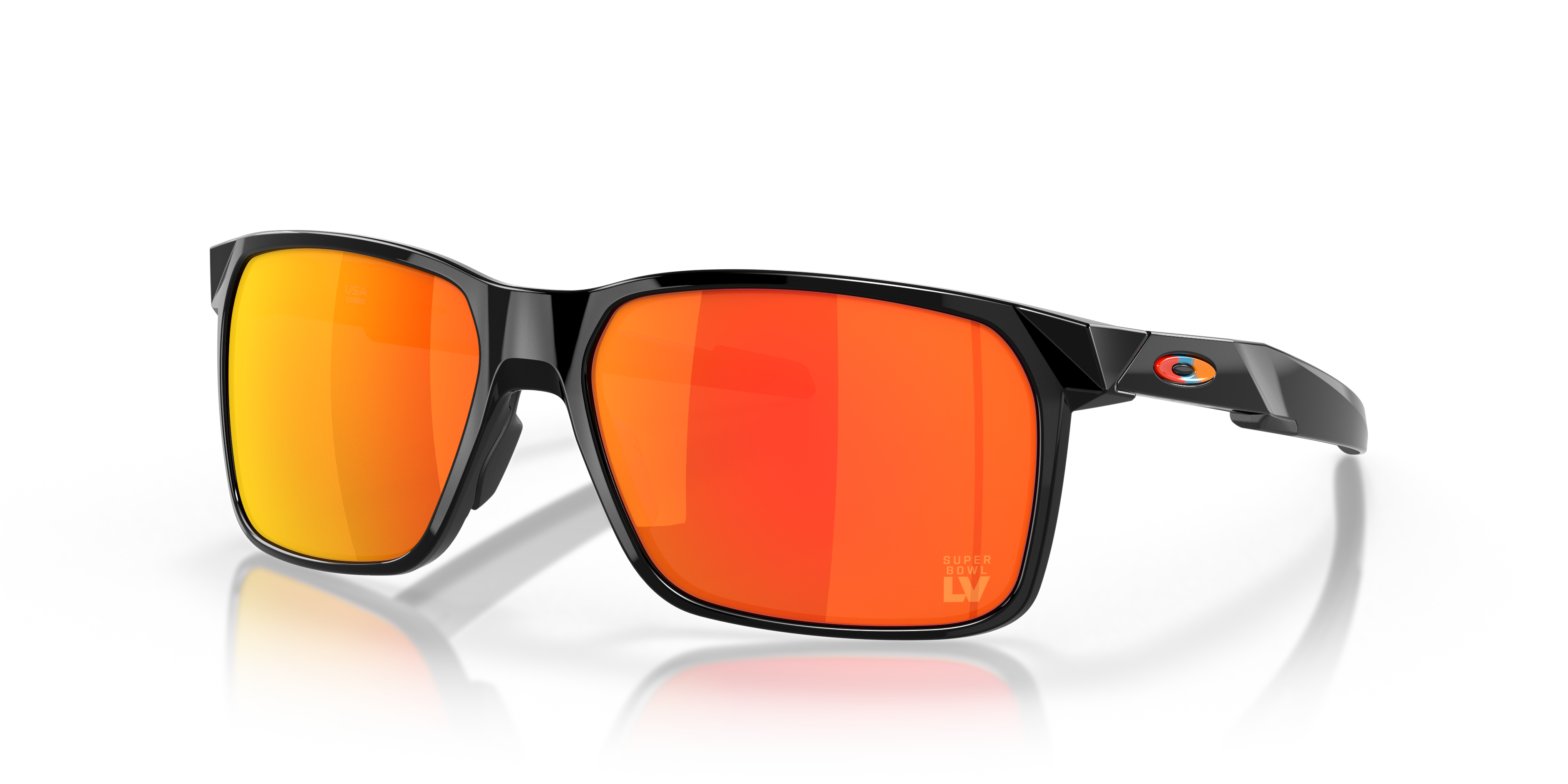 Limited Edition Super Bowl LV Portal X Polished Black Sunglasses | Oakley® US